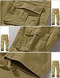 Match Men's Wild Cargo Pants, Khaki, 32