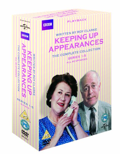 Keeping Up Appearances (Complete Collection - Series 1-5) - 8-DVD Box Set ( Keeping Up Appearances - Series One - Five (40 Episodes) ) [ NON-USA FORMAT, PAL, Reg.2 Import - United Kingdom ] (Keeping Up Appearances Season 2)