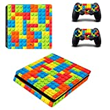 eSeeking Whole Body Vinyl Skin Decal Cover For PS4 Slim Console and 2PCS Controller Skins Stickers Lego Review
