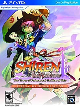 Shiren the Wanderer: The Tower of Fortune and the Dice of Fate - Eternal Wanderer Edition [Vita]