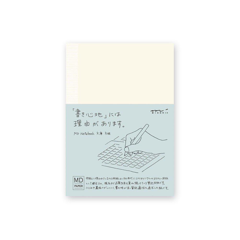 Midori MD Notebook - A6, Grid Designphil 15001006