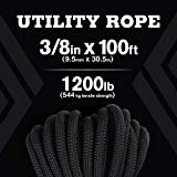 """Atwood Rope MFG 3/8"""" inch Braided Utility"""