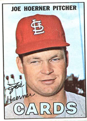 1967 Horn - 1967 Topps #41 Joe Hoerner St. Louis Cardinals Baseball Card