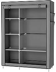 UDEAR Armario Closet Organizador Plegable para Ropa Ropero Resistente al Polvo Guardarropa 105 x 45 x