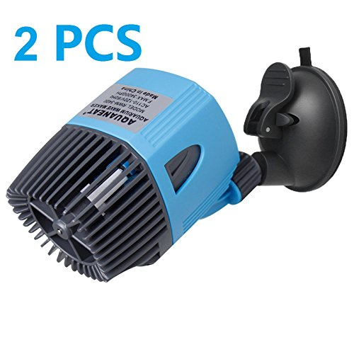 Aquaneat 2x3400GPH Wave Maker Aquarium Circulation Pump Powerhead Submersible Water ()