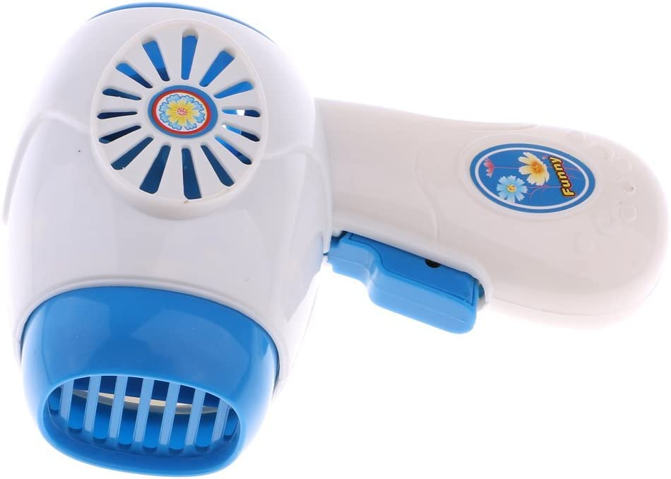 Ogquaton Children Simulation Pretend Toy Mini Home Appliances Model Toys for Kids Baby Play Toys Birthday Gift Hairdryer Hair Dryer Practical and Popular