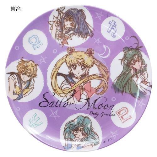 Sailor Moon Melamine plate Sailor 5 Pretty Soldiers(Japan Import) Co. Ltd. hase-Pro