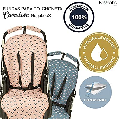 Para Asiento De Carro o Cochecito BAOBABS BCN Funda Grupo 0 Para Carrito y Silla de Paseo Universal de Beb/é Maxima Calidad Transpirable y Muy C/ómoda Hecha En Espa/ña