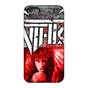 Shock-Absorbing Cell-phone Hard Cover For Iphone 6 With Custom Trendy Metallica Image DrawsBriscoe
