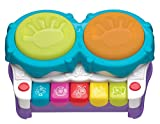 Playgro 6384144 2 in 1 Light Up Music Maker STEM Toy for baby to toddler