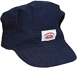 product image for Round House Adult Train Engineer Denim Cap Made in America