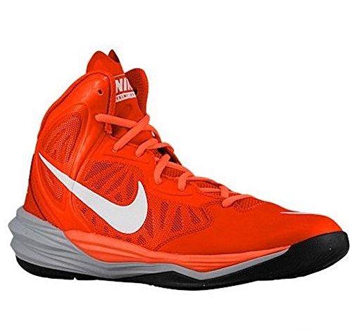 Nike Mens Prime Hype Df Squadra Di Scarpe Da Basket Arancione