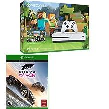 Xbox One S 500GB Console - Minecraft Bundle + Forza Horizon 3