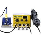 BAKU BK-601D Multi-Function Digital Display Brushless Rework Soldering Station Hot Air Lead-Free Soldering Iron, 110V (BK-601D)