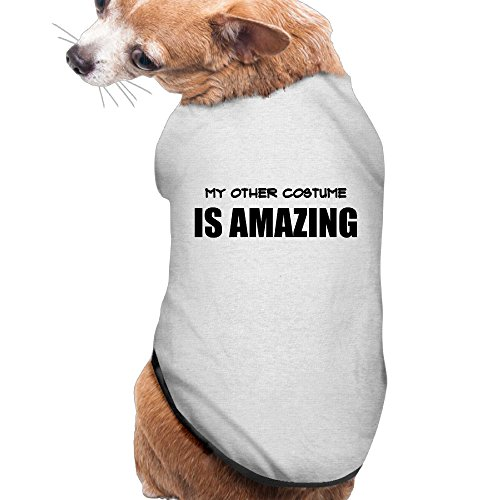 Dog Clothes My Other Costume Is Dog Jackets Pet Cute Polyester Fiber Pet Dog Clothes (Dance Racks Costumes)
