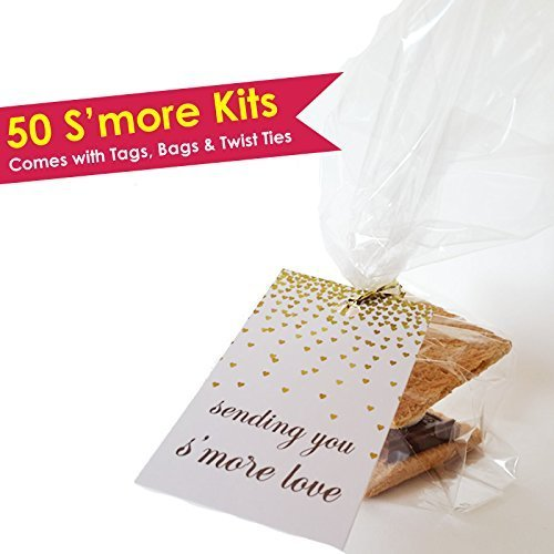 Smore Party Favors - Smore Love Tags (50 qty)]()