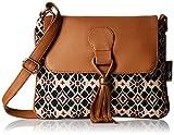 Kanvas Katha Women's Sling Bag (Beige) (KKSNJQ012)