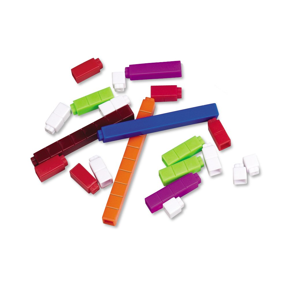 Learning Resources LER7480 - Regletas de Cuisenaire (74 unidades)