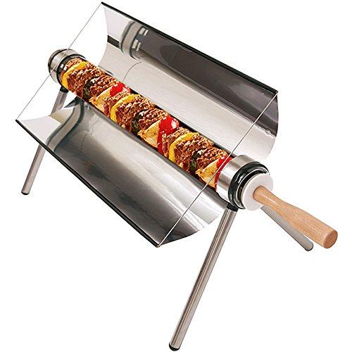 Portable Solar Oven,All Seasons Sun Cooker BBQ Grill Picnic Food Heater Kebab Roast Charbroiler With Handbag