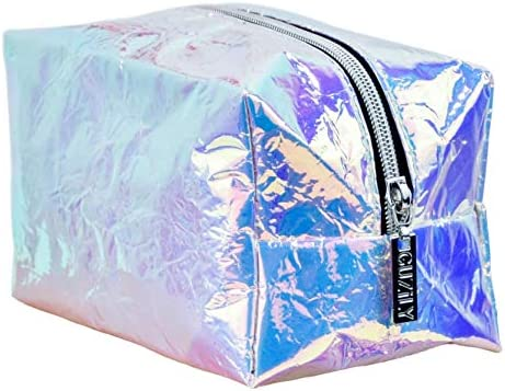 Amazon.com: Guzily - Neceser holográfico, bolsa de ...