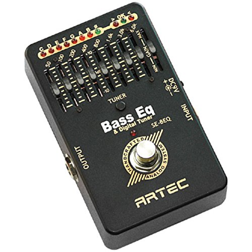 Artec SE-BEQ Graphic Bass Equalizer with On-Board Tuner ! by Artec