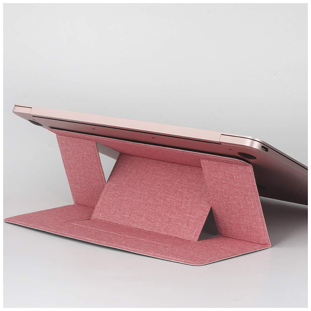 TQZY Computer Notebook Portable Stand, Can Be Raised and Lowered, Invisible Ultra-Thin Multi-Function Notebook Stand
