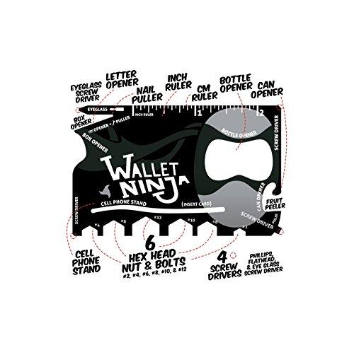 18-in-1 Tool Ninja Wallet - 8