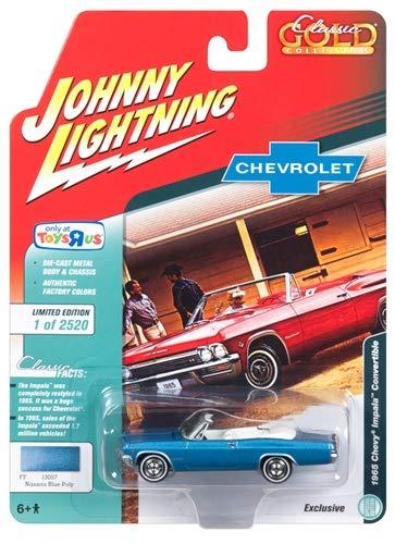 1965 Chevrolet Impala Convertible Blue Metallic