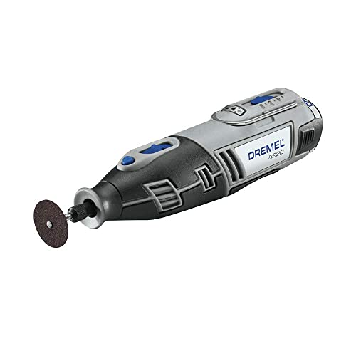 Dremel 8220-DR-RT 12V Max Cordless Lithium-Ion Rotary Tool Kit with 1.5 Ah Battery Pack Renewed