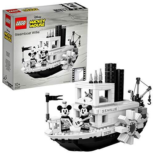 레고(LEGO) 아이디어 증기선월리 디즈니 21317 블럭 장난감