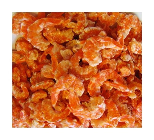 Thai Sea food Banana shrimp Dried shrimp Seafood grade A for Cooking & Snack umami taste For Thai food menu 100 g. ()