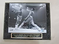 Muhammad Ali Joe Frazier Fight of the Century Collector Plaque w/8x10 Photo