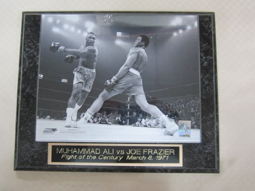 Muhammad Ali Joe Frazier Fight of the Century Collector Plaque w/8x10 Photo ()