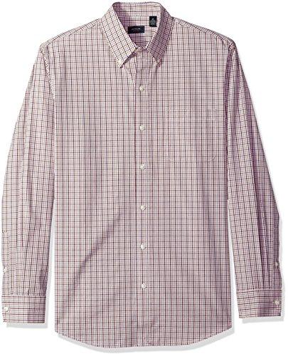 Bugs Long Sleeve Shirt (Arrow Men's Long Sleeve Plaid Hamilton Shirt, Winter Bug, X-Large)