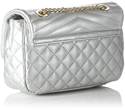 Valentino Margaritas - Bolso baguette mujer Plateado (Argento)
