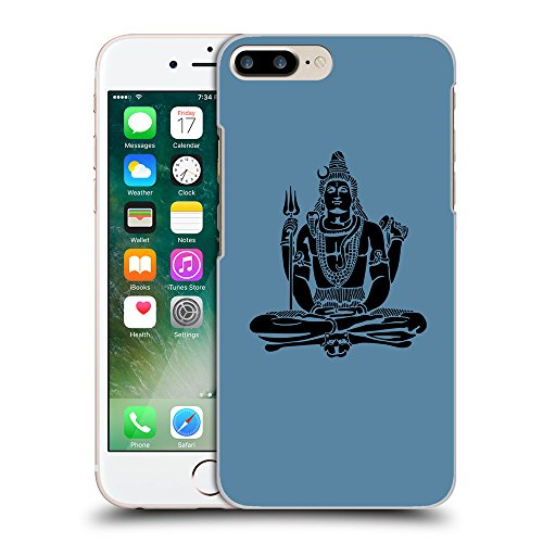 GoGoMobile Coque de Protection TPU Silicone Case pour // Q08100600 Hindou 1 Aviation Bleu // Apple iPhone 7 PLUS