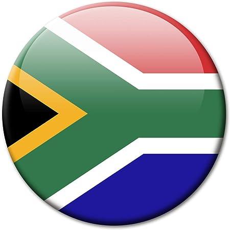 Kühlschrankmagnet Südafrika Flaggen Magnet Länder Reise Souvenir Flagge South Africa Für Amazon De
