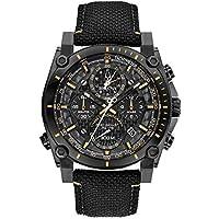 Bulova Precisionist Men's Quartz 46mm Nylon Strap Watch (98B318)