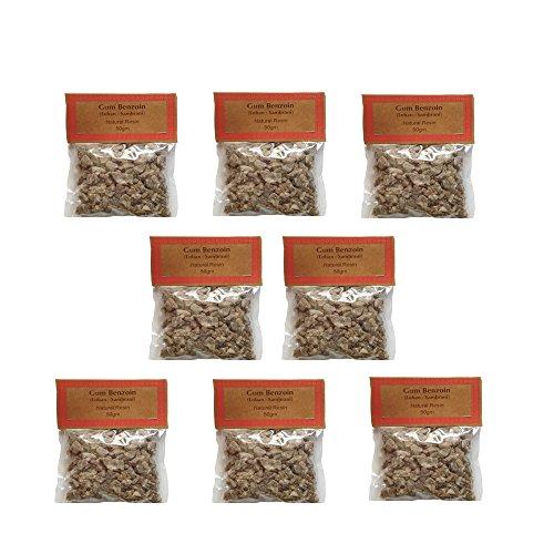 Auroshikha Sambrani/ Loban (Gum Benzoin, 400 gms) - Set of 8 - Buy