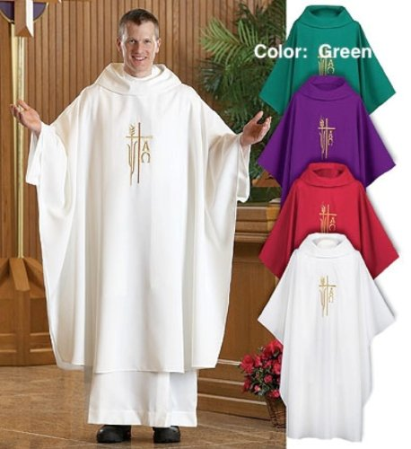 Spirit/Hope Monastic Chasuble (Green) -