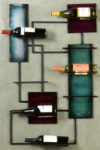 Southern Enterprises Wine Storage Wall Sculpture,24