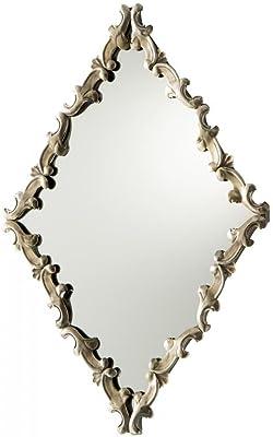 Amazon Com Arabesque Quatrefoil Gold Wall Mirror Vanity