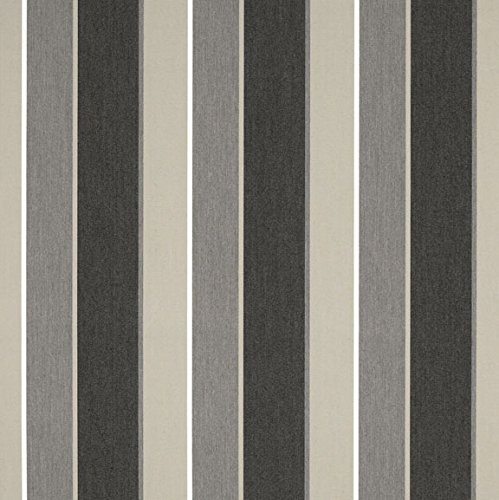 Stripe Sunbrella (Sunbrella Clinton Granite #4888-0000 Awning / Marine Fabric)