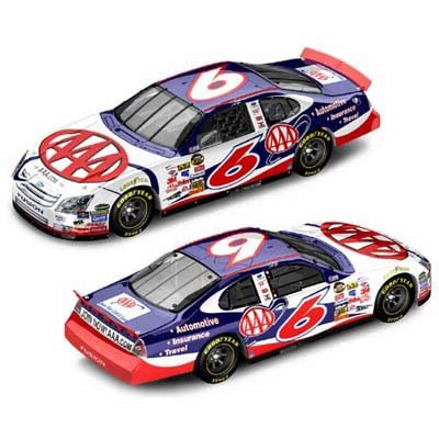 Motorsports Authentics David Ragan #6 AAA / 2007 Ford Fusion / 1:64 Scale Drivers Select Diecast Car ()
