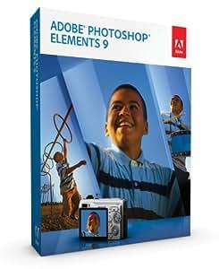 Adobe Photoshop Elements 9 (Win/Mac)  [OLD VERSION]