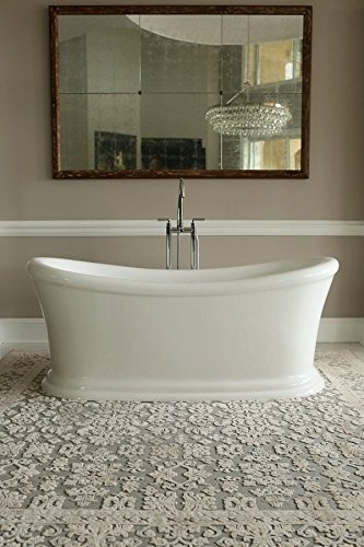 Signature Bath LPISER FS Serene Freestanding Bathtub, 67u0026quot; X  28.5.5u0026quot;