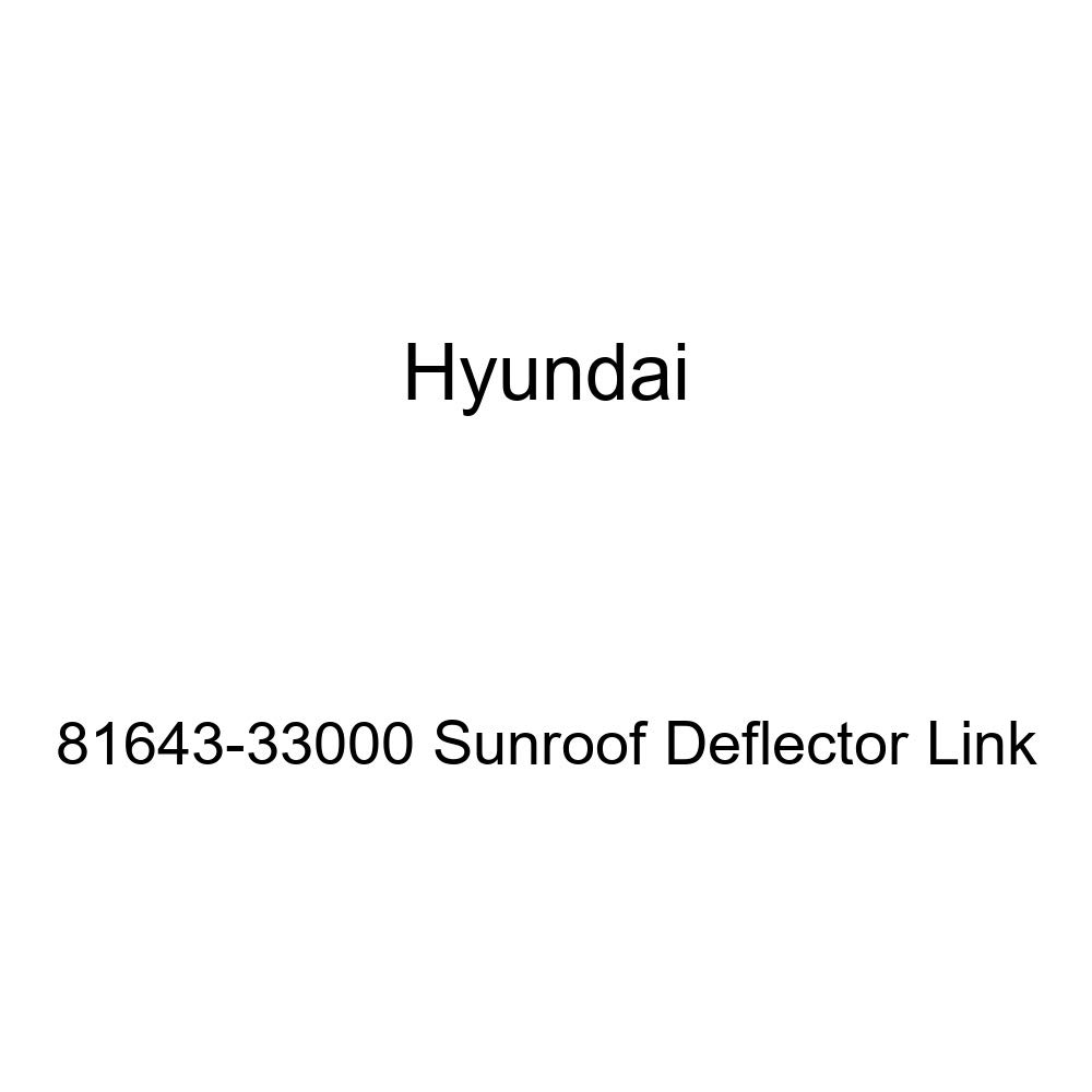 Genuine Hyundai 81643-33000 Sunroof Deflector Link