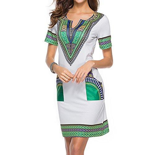 Juleya t Sexy Africain Imprimer Chemises Robes Femme Vintage Mini Hippie Plus La Taille Boho Femmes Casual Vtements Gris