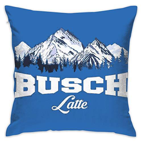 MADELEINE BURROWS Raruca-Busch-The-Light-Busch-Latte Decorative Car Couch Pillow Cases