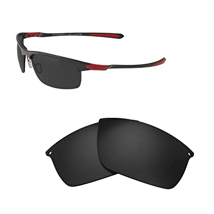 c2eb7443b22 Walleva Replacement Lenses for Oakley Carbon Blade Sunglasses - Multiple  Options Available (Black - Polarized